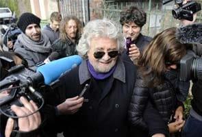 Rise of Italy's Beppe Grillo may threaten Silvio Berlusconi's media empire