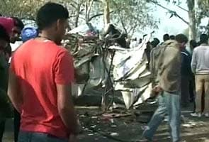 School bus collides with truck near Jalandhar, 11 children killed