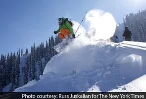 Skiing Kashmir's snow-swept peaks