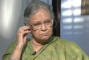 My daughter feels insecure in Delhi: Sheila Dikshit to NDTV