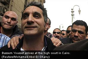 Egypt satirist Bassem Youssef questioned for insulting President Mohamed Mursi
