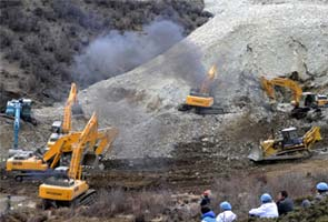 China: Landslide buries 83 in Tibet gold mine area