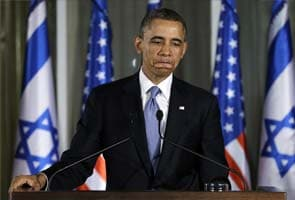 Barack Obama in direct appeal to young Israelis on peace