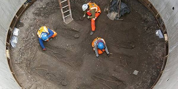 London rail project uncovers bodies, likely from Black Death period