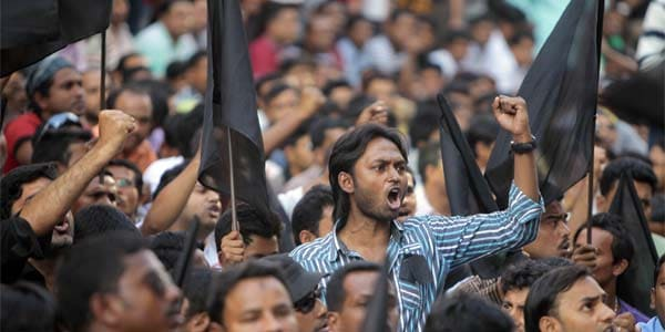 Shahbag Square, the heart and soul of a students' movement