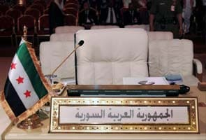 Syrian opposition takes seat at Arab summit in Qatar