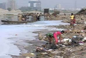 Yamuna: a river that's all but dead