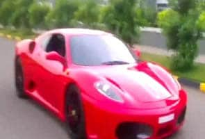 Kerala: 9-year-old drives Ferrari, creating furore