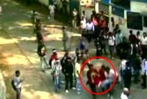 Kolkata student leader's death: CCTV shows protesters allegedly beating up cop
