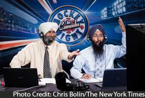 Increasingly, language of hockey in Canada is Punjabi, too