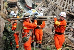 China earthquake death toll climbs to 203, over 11,000 injured