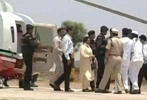 Mayawati's purse searched in Karnataka; she was carrying one lakh rupees
