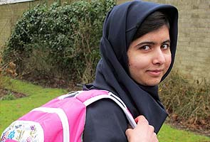 Malala Yousafzai in Time's 'most influential' list