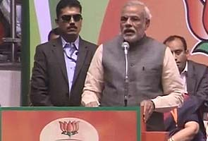 Modi wants to 'repay debts' to India; a hint at being PM, say some