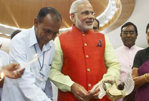 Narendra Modi moves into his new Rs 150 crore office