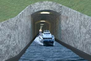 Norway wants to build world's first tunnel for ships