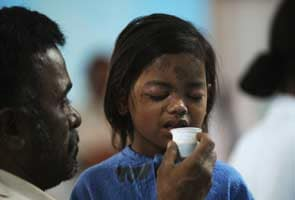 Thane building collapse: Four-year-old rescued from rubble opens her eyes
