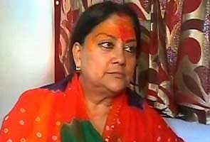 Vasundhara Raje plays down infighting in Rajasthan BJP, says 'let bygones be bygones'
