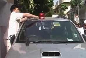 Officials remove beacon from actress-politician Jaya Prada's car
