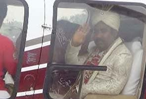 Bihar MLA brings bride home in chopper, Chief Minister Nitish Kumar among 50,000 guests