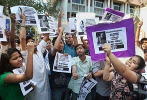 Protest in Delhi over Kolkata student Sudipto Gupta's death