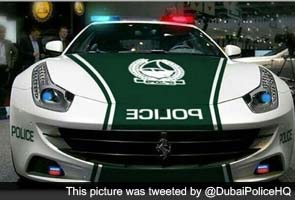 After Lamborghini, Dubai cops to have Ferrari car
