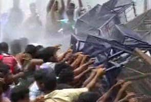 Kerala minister's domestic abuse scandal: water cannons used on protesters outside assembly