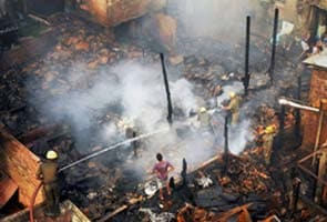 Fire breaks out in Kolkata's Burrabazar area, no casualty