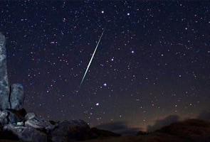 Meteor showers to be visible after midnight tonight