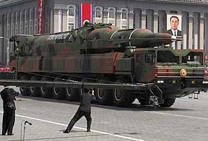 North Korea moves missile to east coast: report