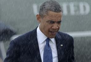 Barack Obama arrives in Boston for bombing-victim memorial