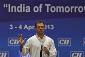 Rahul Gandhi's hosts, India Inc, give speech an A