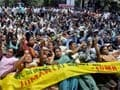 Chit fund scam: Thousands protest against Sudipta Sen's Saradha Group in Guwahati
