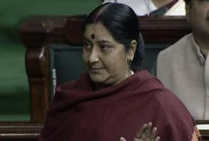 Government trying to use CBI to save PM, says Sushma Swaraj