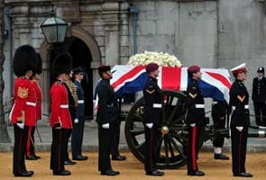 Britain bids farewell to the Iron Lady