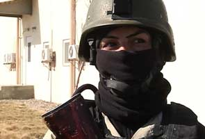 Women on Afghan frontlines to fight Taliban