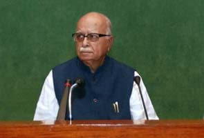 BJP's handling of Karnataka absolutely opportunistic, says LK Advani