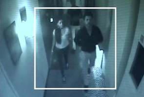 Ipl Spot Fixing Hotel Cctv Footage Shows Sreesanth Chavan Meeting Alleged Bookie