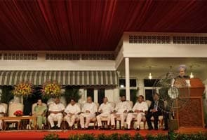 UPA dinner diplomacy: Who sat where