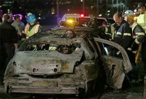 California bride, friends died trying to escape burning limousine