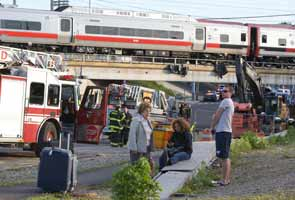 Commuter trains collide in Connecticut, injuring up to 60 people