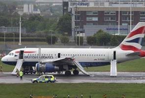 London's Heathrow airport runway re-opened after brief shutdown over emergency landing of British Airways plane