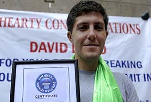 Mexican climber David Liano Gonzalez sets Mount Everest record with double summit