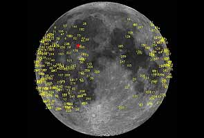 Meteoroid impact triggers bright flash on the moon