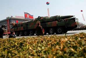 North Korea fires short-range missiles