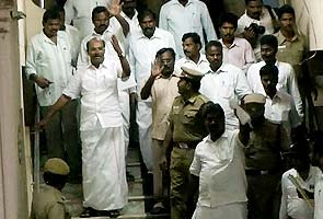 PMK leader S Ramadoss arrested for defying orders, buses torched in clashes