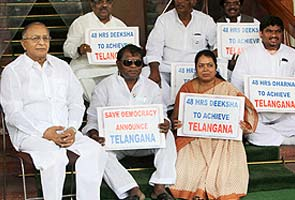 Congress MPs end agitation on Telangana issue