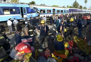 Three dead, 155 injured in Argentina train crash