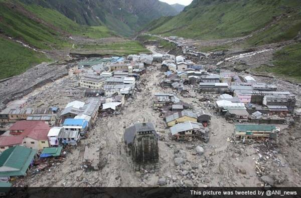 Uttarakhand rain: 45 cops missing; 200 stranded pilgrims air-lifted from Kedarnath