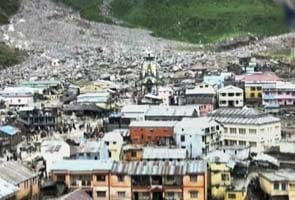 Uttarakhand rains: part of Kedarnath compound washed away, temple not damaged